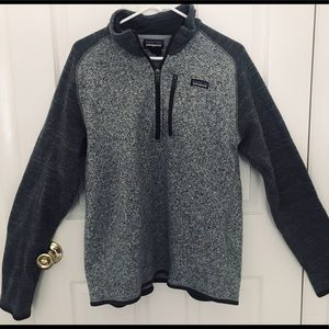 Men's Patagonia winter quarter zip